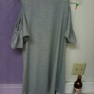 bnwt xl long cut out top or dress